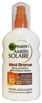 AMBRE SOLAIRE IDEAL BRONZE SPF10 200 ML