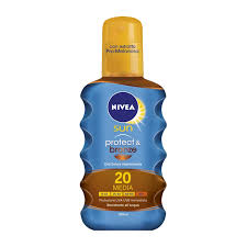 NIVEA SUN OIL FP 20 MEDIA PROT,200 ML