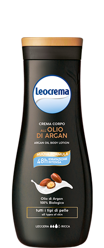 LEOCREMA CR.CORPO OLIO DI ARGAN 400 ML